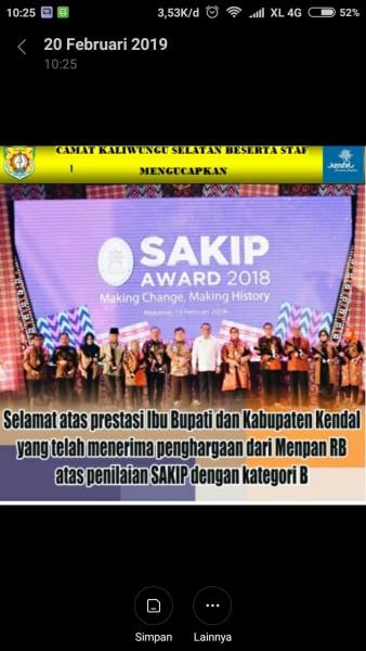 sakip awards 2019
